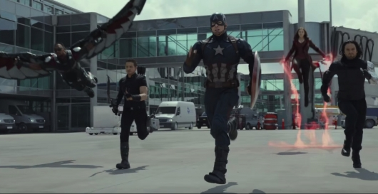 Captain America: Civil War Trailer Header