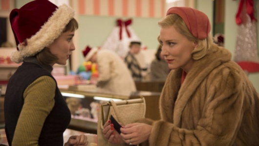 Carol starring Rooney Mara and Cate Blanchett