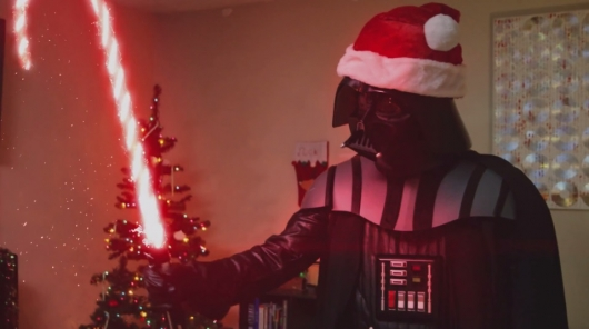 "Darth Vader Star Wars Christmas Short ""Darth Santa"""