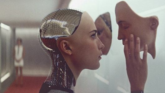 Alicia Vikander in A24's Ex Machina