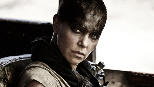 Charlize Theron as Furiosa in Max Max: Fury Road