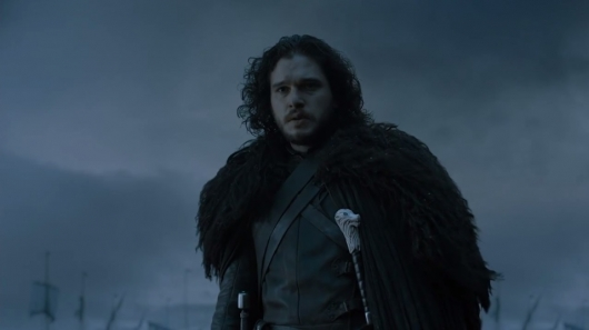 Jon Snow in Game of Thrones Season 6 Teaser Trailer