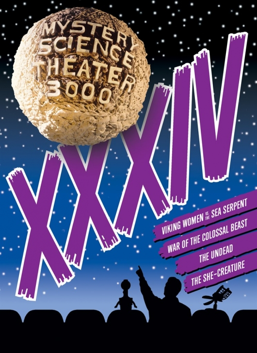 MST3K Volume 34 DVD Review