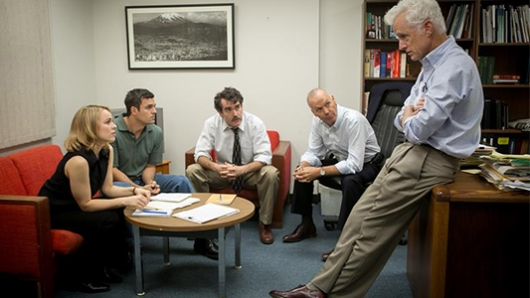 the cast of Spotlight