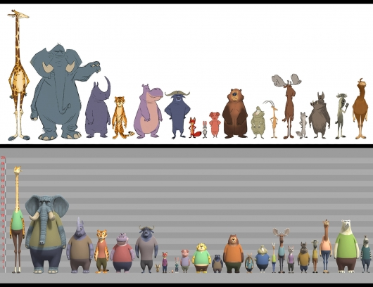 Zootopia Animal Scale