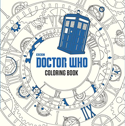 Doctor Who Coloring Book cover