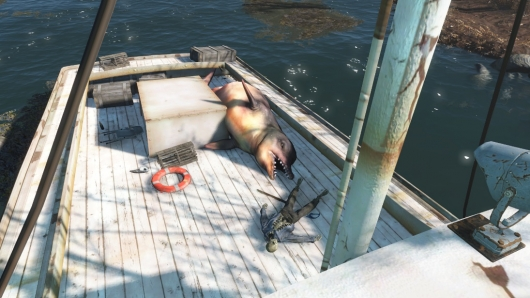 Fallout 4 JAWS Easter Egg #2