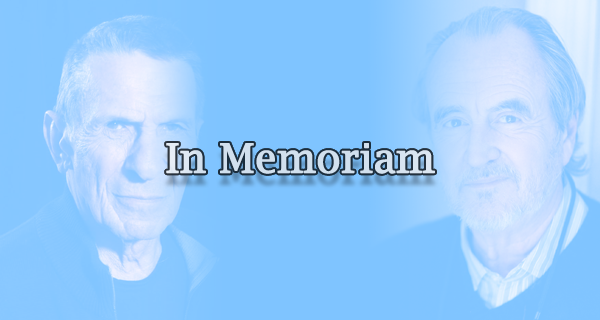 In Memoriam: Film and TV Entertainers 2015