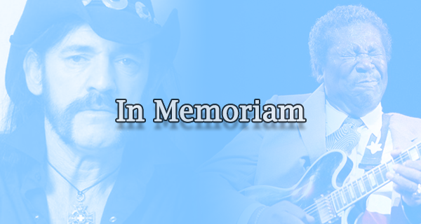 In Memoriam: Musicians Who Died In 2015