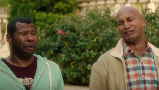 Jordan Peele and Keegan-Michael Key of Key & Peele in Keanu Trailer