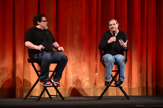 The Jungle Book's Director Jon Favreau and Visual Effects Supervisor Rob Legato