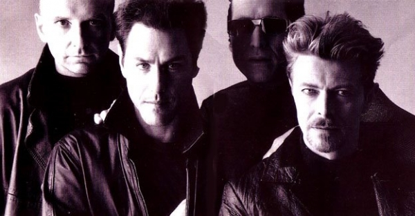 David Bowie Tin Machine Band Photo