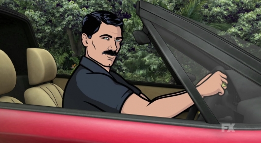 Archer Season 7 Magnum, P.I. Trailer