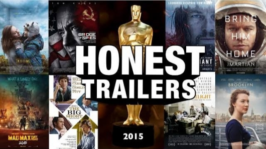 Honest Trailer- The Oscars