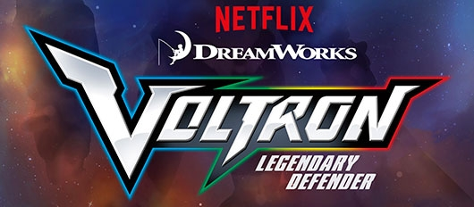 Voltron: Legendary Defender logo Netflix DreamWorks Animation