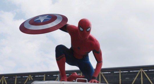 Captain America Civil War Spider-Man Image