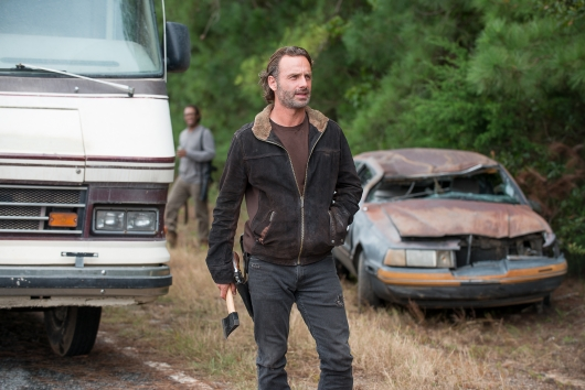 Andrew Lincoln as Rick Grimes - The Walking Dead