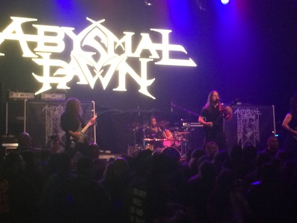 Abysmal Dawn @ The Mayan Los Angeles 3-8-16