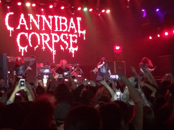 Cannibal Corpse @ The Mayan Los Angeles 3-8-16