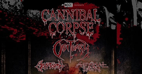 Cannibal Corpse & Obituary Tour 2016