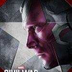 captain america civil war vision poster