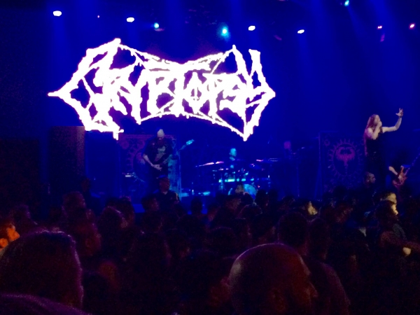 Cryptopsy @ The Mayan Los Angeles 3-8-16