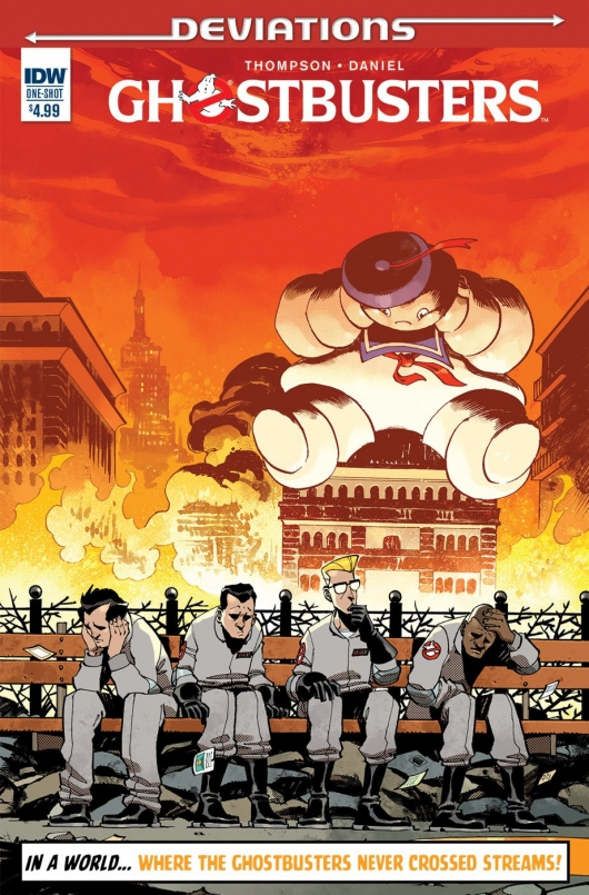 Ghostbusters: Deviations (One Shot) regular cover