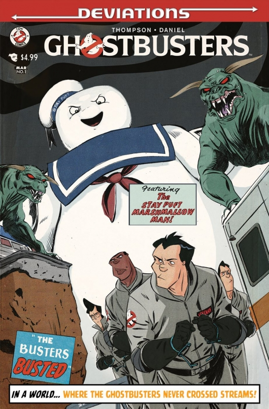 Ghostbusters: Deviations (One Shot) subscription variant cover