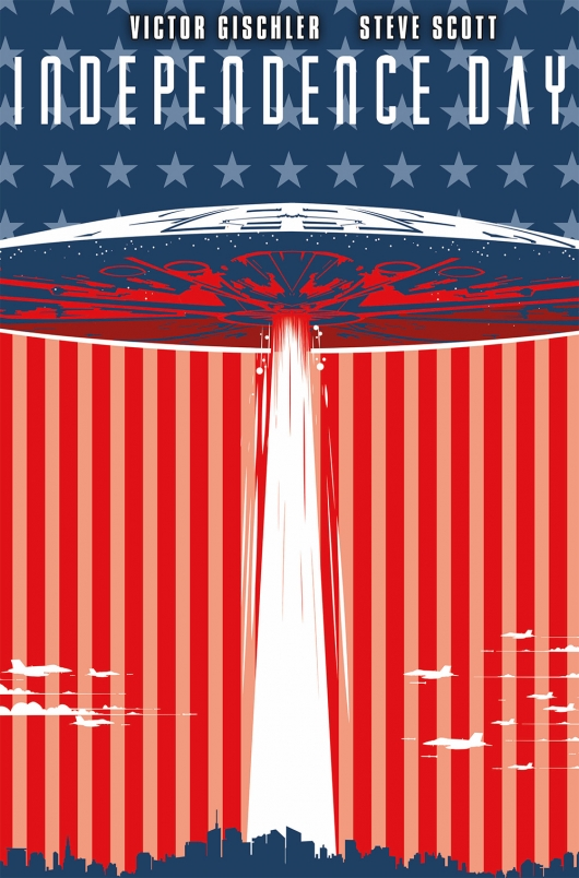 Independence Day #1 movie cover A