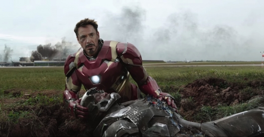 Robert Downey Jr. as Iron Man Captain America: Civil War