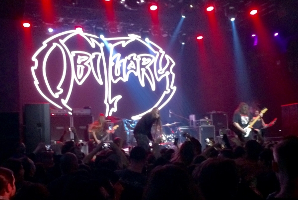 Obituary @ The Mayan Los Angeles 3-8-16