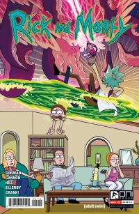 Rick And Morty #1 5th Printing