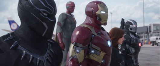 Captain America: Civil War Team Iron Man