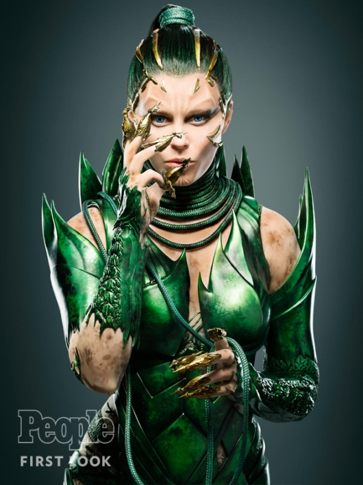Elizabeth Banks as Power Rangers Villain Rita Repulsa