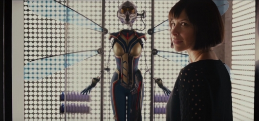 Evangeline Lilly As Wasp in Ant-Man