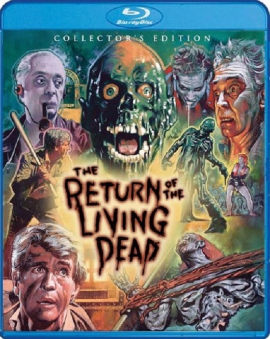 The Return of the Living Dead Collector's Edition Blu-ray Cover