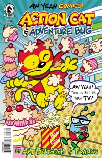 Aw Yeah Comics: Action Cat And Adventure Bug #3
