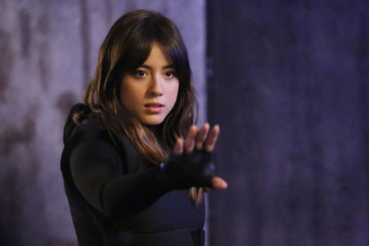 "Chloe Bennet as Daisy ""Skye""  Johnson in Agents of SHIELD"