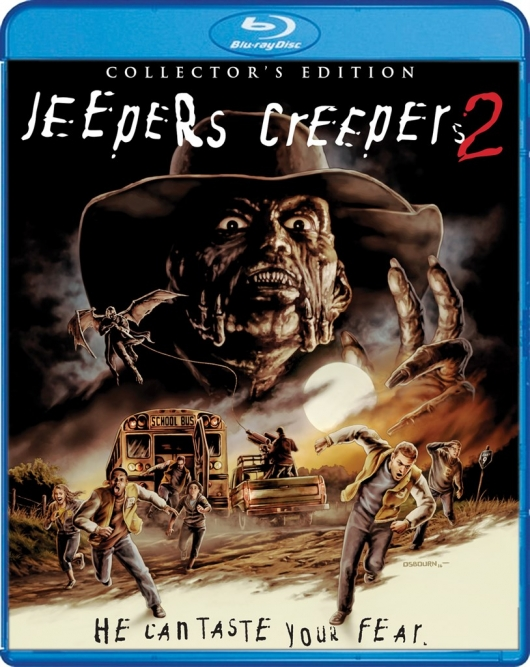 Blu-ray Review: Jeepers Creepers 2 Cover Art