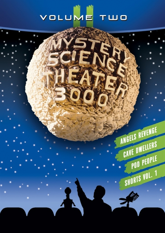 DVD Review: MST3K: Volume II Cover Art