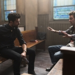 Dominic Cooper as Jesse Custer, Joseph Gilgun as Cassidy - Preacher