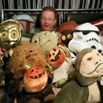 Me and my Star Wars Halloween Plushes