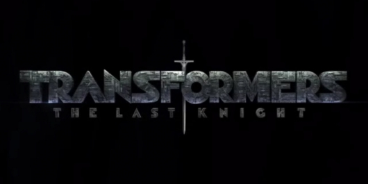 Transformers: The Last Knight title card