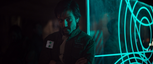 Diego Luna in Rogue One: A Star Wars Story