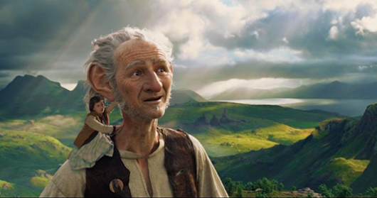 Movie Review: Steven Spielberg's THE BFG, starring Mark Rylance.