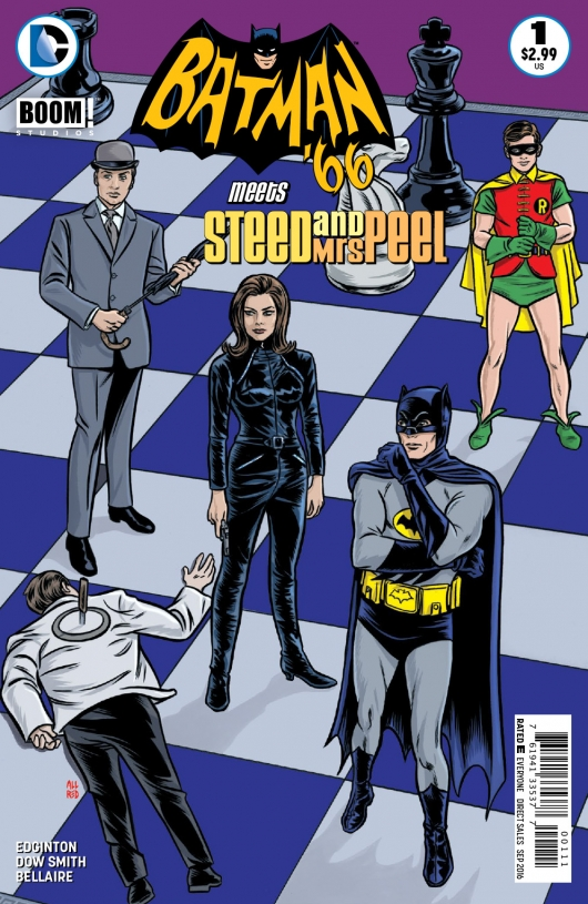 Batman '66 Meets Steed and Mrs. Peel #1 (of 12, Digital)