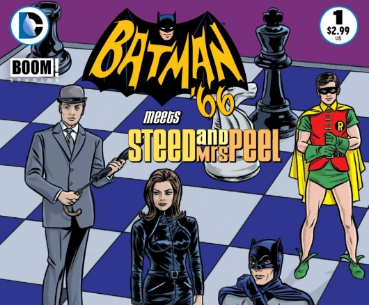 Batman '66 Meets Steed and Mrs. Peel #1 (of 12, Digital) header