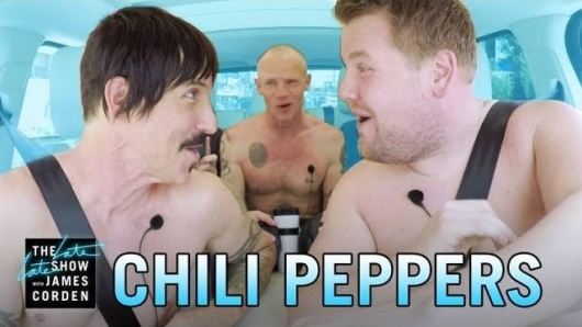 James Corden Red Hot Chili Peppers Carpool Karaoke