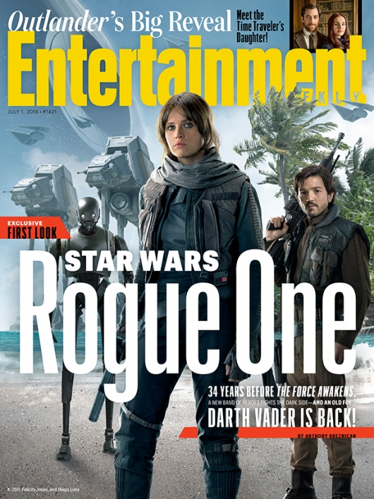 Rogue One: A Star Wars Story EW Cover
