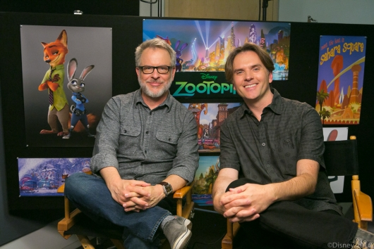 Zootopia directors Rich Moore and Byron Howard